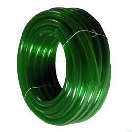 Luchtslang 4 - 6 mm Heldere pvc  type kristal groen !
