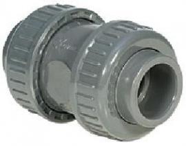 20 mm Terugslagklep PVC (Teflon) *