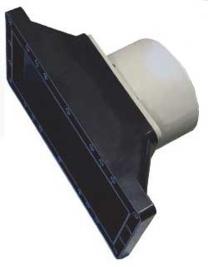 Aqua Forte 160 mm flens met brede skimmermond (
