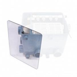 Transparante deksel voor Aquaforte trommelfilter (