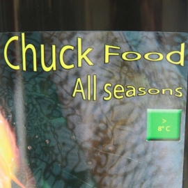 Chuck Food All Seasons 4 Kg