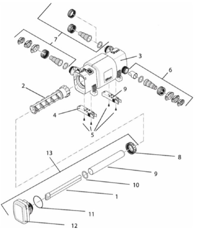 (6) Accessoire Kit Bitron C 36/55/72/110