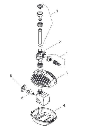 (5) Rotor kpl. ASE 1000 gemagnetiseerd