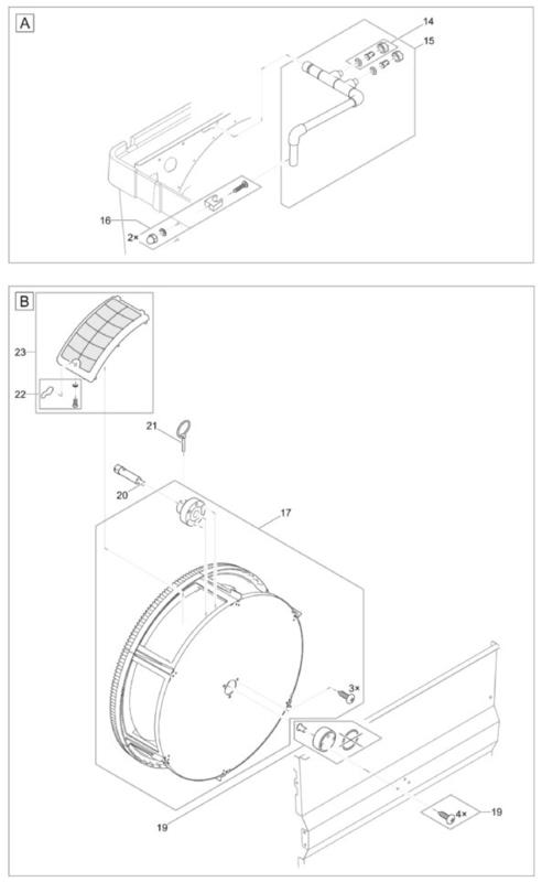 (17) Vervang trommel BioTec / Compact