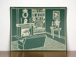 vintage schoolplaat Plantyn les 24