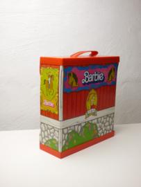 """vintage Barbie """"paardenbox"""""""