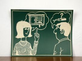 vintage schoolplaat Plantyn les 195