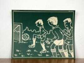 vintage schoolplaat Plantyn les 125