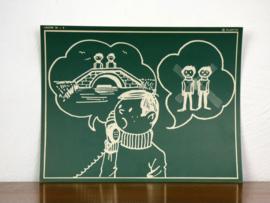 vintage schoolplaat Plantyn les 184
