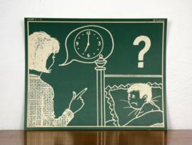 vintage schoolplaat Plantyn les 42