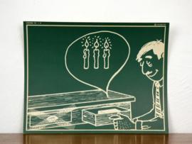 vintage schoolplaat Plantyn les 194