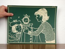 vintage schoolplaat Plantyn les 161