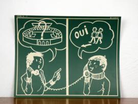 vintage schoolplaat Plantyn les 182