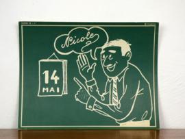 vintage schoolplaat Plantyn les 191