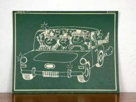 vintage schoolplaat Plantyn les 189