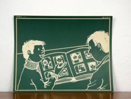 vintage schoolplaat Plantyn les 31