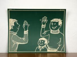 vintage schoolplaat Plantyn les 17