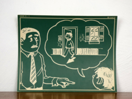 vintage schoolplaat Plantyn les 151