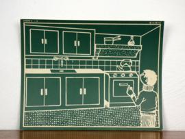 vintage schoolplaat Plantyn les 23