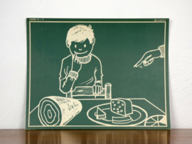 vintage schoolplaat Plantyn les 142