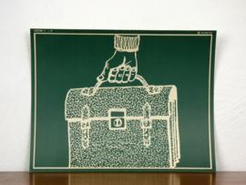 vintage schoolplaat Plantyn les 16