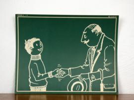 vintage schoolplaat Plantyn les 29