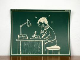 vintage schoolplaat Plantyn les 124