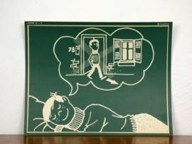 vintage schoolplaat Plantyn les 153