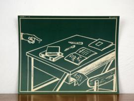 vintage schoolplaat Plantyn les 15