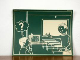 vintage schoolplaat Plantyn les 11