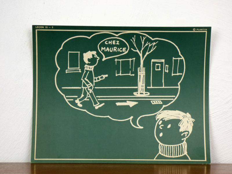 vintage schoolplaat Plantyn les 152