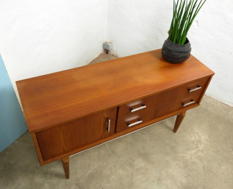 Beste 60's TV-meubel teak | Vintage meubels | merlinaskailine JX-12