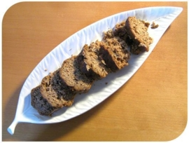 Kruidkoek met walnoot en vijg