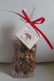 Gegrilde walnoten met caramel