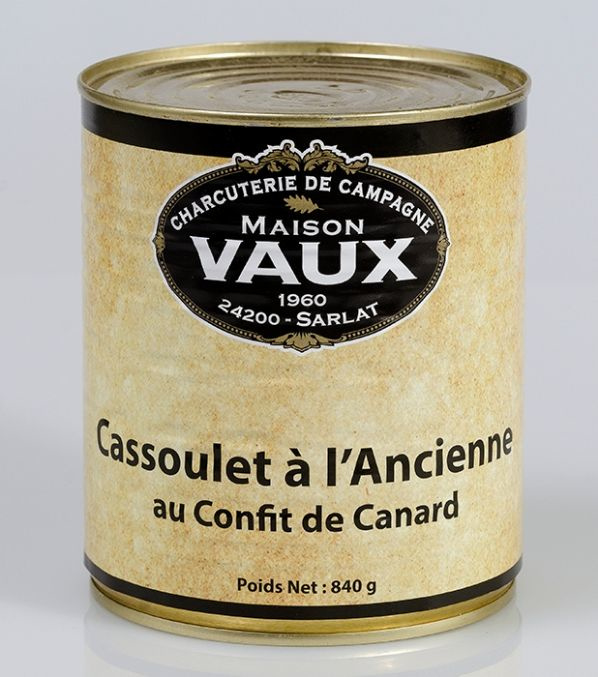 Cassoulet met geconfijte eendenpoot