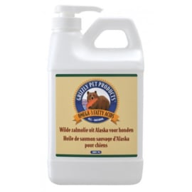 Grizzly wilde zalmolie 2000 ml