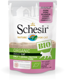 Schesir BIO Organic Adult cat Pork pouches
