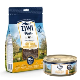Ziwipeak Daily Cat Cuisine Chicken 400 gram + gratis blikje 85 gram Chicken
