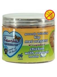 Renske kattensnoepjes - Kip met oregano