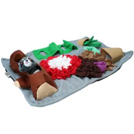 AFP Dig-It snuffelmat met speeltje rechthoek
