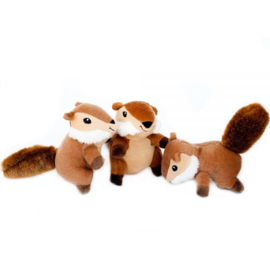 Zippypaws Chipmunks 3-pack