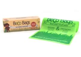 BecoBags biologisch afbreekbare poepzakjes 300 stuks (in dispencer)