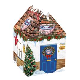 Renske Kersthuisje voor de kat