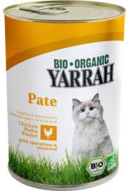 Yarrah blikvoeding voor de kat - paté  kip