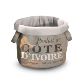 D&D Home collection coffee bag Cote D'ivoire