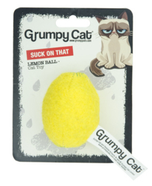 Grumpy Cat Lemon Ball