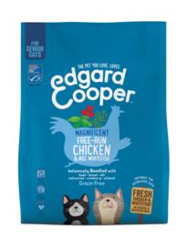 Edgard & Cooper Senior Verse Scharrelkip en MSC Vis kattenbrokjes