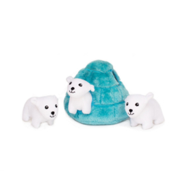 Zippypaws Burrow Polar Bear Igloo
