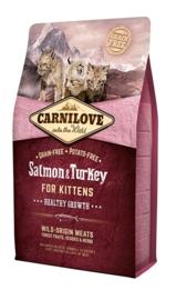 Carnilove Kittens Zalm & Kalkoen