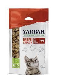Yarrah biologische mini snack kat